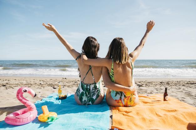 dziewczyny na plazy