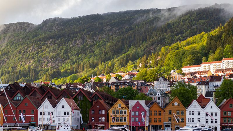 pejzaż norwegii