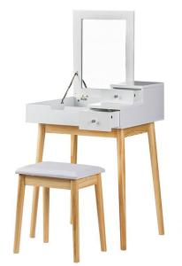 nowoczesna toaletka dla kobiety