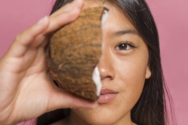 olej kokosowy na wlosy